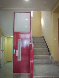 Instalación ascensores edificios antiguos
